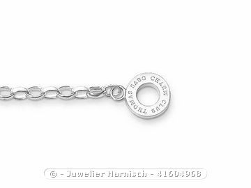 Thomas Sabo Charm-Armband - X0163-001-12-M - 17,5 cm- Charm Club Carrier
