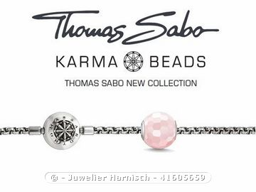 thomas sabo karma beads starterset k0005 rosenquarz. Black Bedroom Furniture Sets. Home Design Ideas