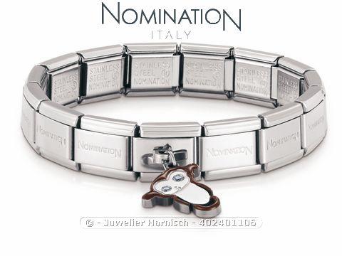 nomination classic kiki armband charms affe 024011 006. Black Bedroom Furniture Sets. Home Design Ideas