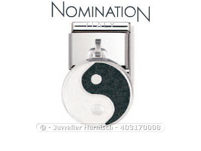 nomination classic anh nger yin yang charms 031700 08. Black Bedroom Furniture Sets. Home Design Ideas